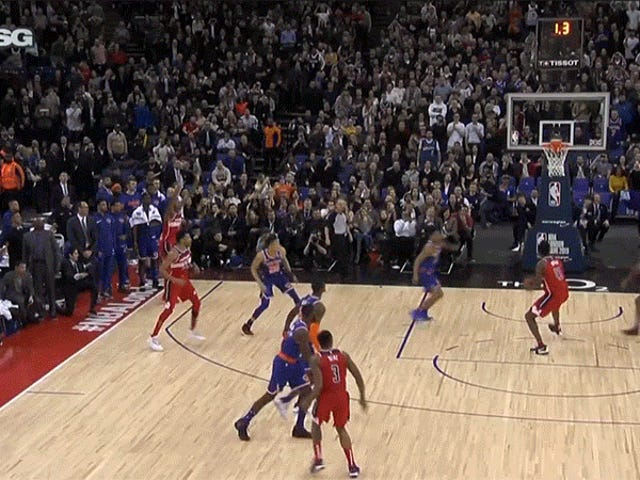 Knicks Lose London Game In Knicksiest Imaginable Fashion