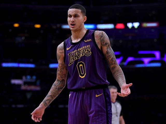 Kyle Kuzma Adakah Membuat Kebanyakan Peluang Untuk Memimpin LeBron-Less Lakers