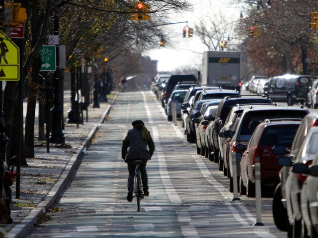 Here's Why New York City's First Protected Bike Lane Was Such a Big Deal