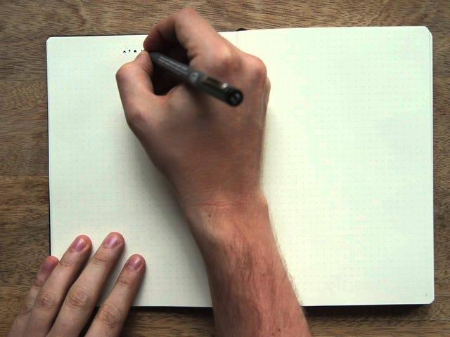 La méthode de productivité Bullet Journal renforce votre carnet de notes papier