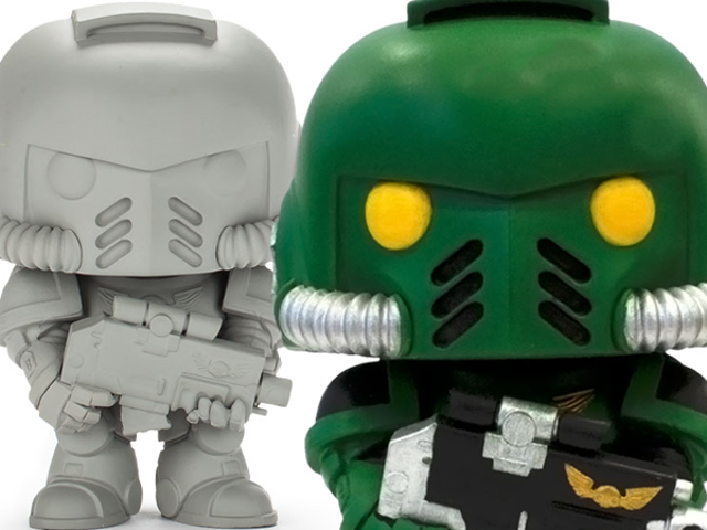 The Ultimate Warhammer 40K Funko Pop Is One You Can Paint Yourself