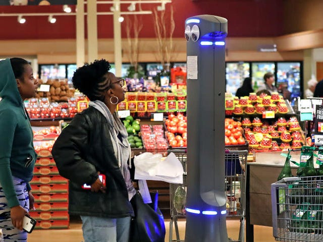 Marty the Stop & Shop robot celebrates first birthday amid murder trial