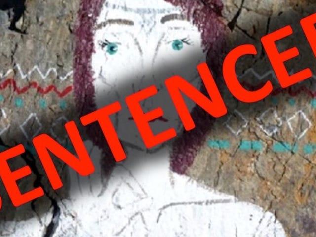 수백만 에이커의 국립 공원에서 끔찍한 낙서 예술가 금지