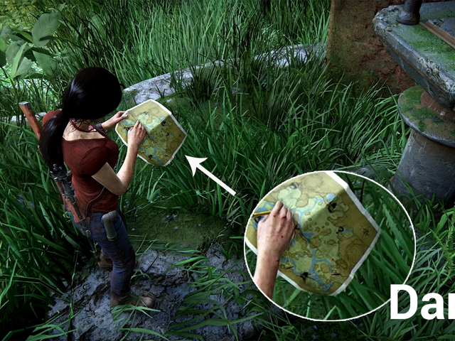 A Ridiculous Little Detail In Uncharted: The Lost Legacy