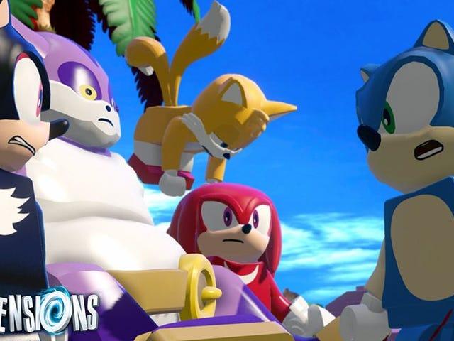 Lego cần phải tạo ra tất cả những nhân vật Sonic the Hedgehog