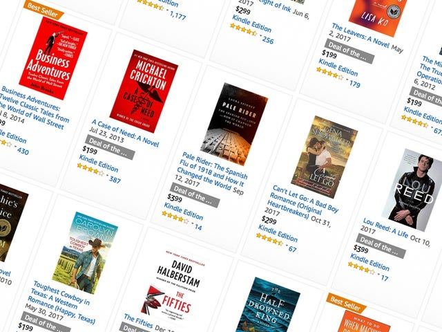 Find a New Page Turner In Amazon's Last Kindle Sale of 2017