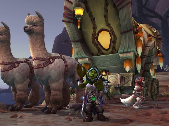 World Of Warcraft's Alpacas Are My Best Friends