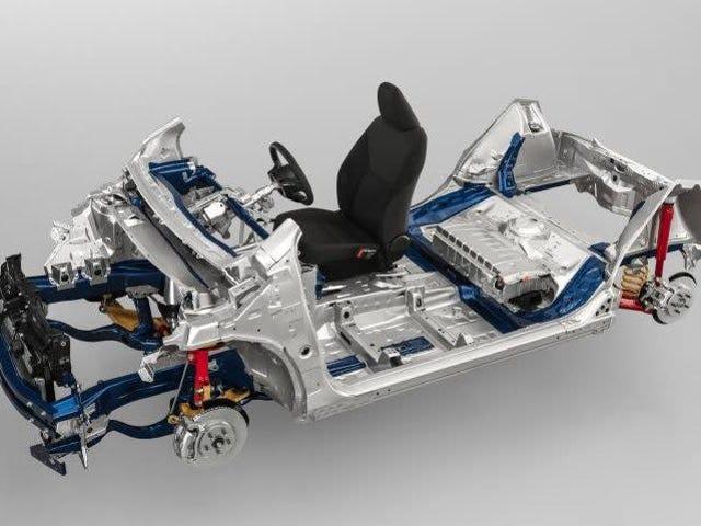 丰田的新GA-B平台适用于小型车
