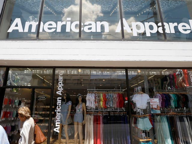 American Apparel Is Effectively Over, Sold At Auction to Canadian Company for $88 Million