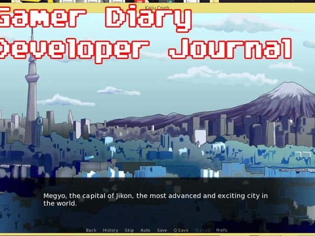 Developer Diary Day Thirty-Three