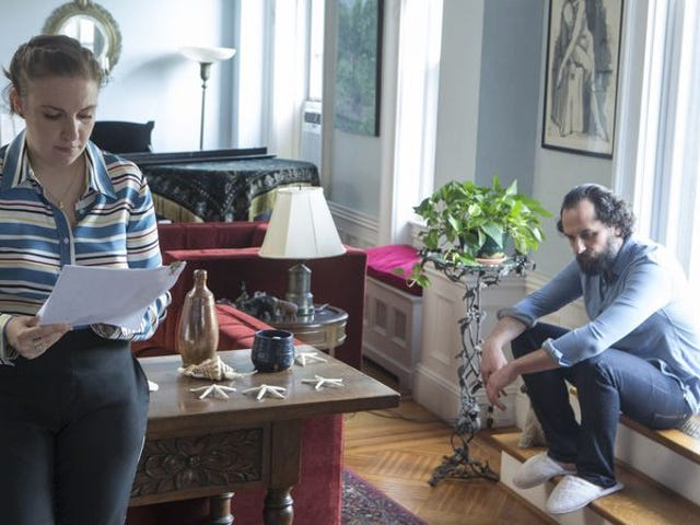 Matthew Rhys'in konuğu ve sahte penisindeki Girls yönetmeni Richard Shepard