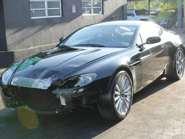 For $17,950, Could You Become An Accidental Tourist In This 2007 Aston Martin V8 Vantage?