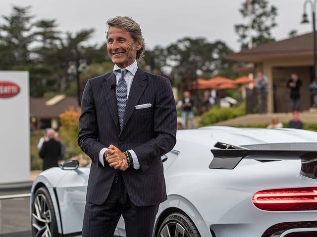 คุณไม่ต้องการฟัง Bugatti พูดคุยเกี่ยวกับ Bugatti