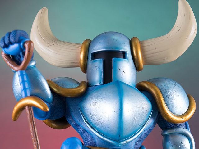 A $300 Shovel Knight Statue The World Definitely Needed