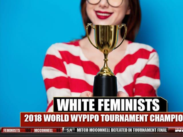 Đó là chính thức: Nữ quyền da trắng là Wypipo tồi tệ nhất trên thế giới!