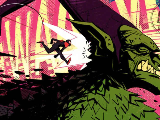 Spider-Man: Into the Spider-Verse's Green Goblin Is a Glimpse at How Gorgeous the Movie Is