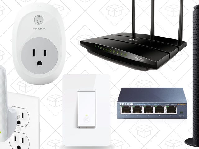 Amazon's Blowing Out a Ton of Networking and Home Automation Gear, Today Only