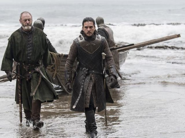 Ice and fire finally meet in a front-loaded episode of Game Of Thrones (newbies)