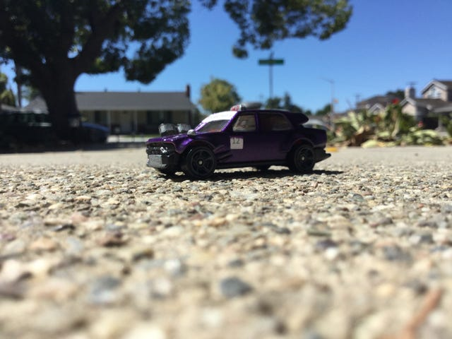 LaLD GT2 AM: Hideous Purple Toyota Racing #12