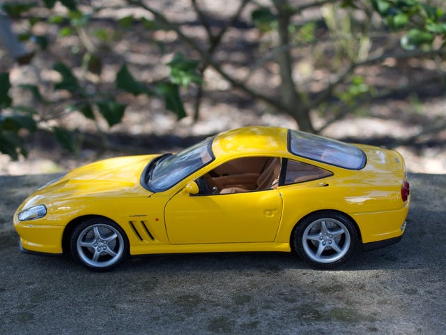 Lost and Found: Ferrari Maranello 550