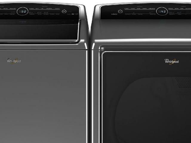 Whirlpools Nest-Connected Vaskemaskine og Tørretumbler Kør, når strømmen er billigere