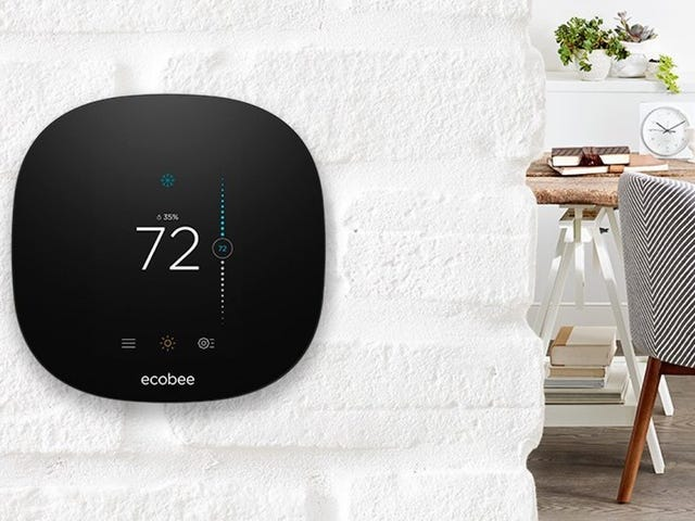 Upgrade Your Home With An Ecobee Smart Thermostat For Just $139