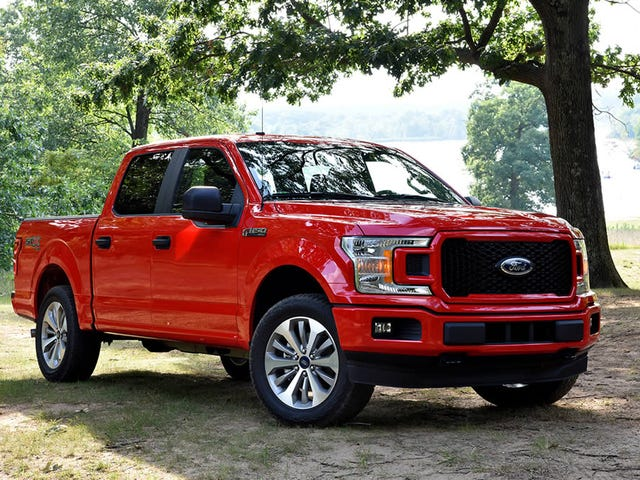 Hour Rule: 2018 F-150 XL STX SuperCrew Edition