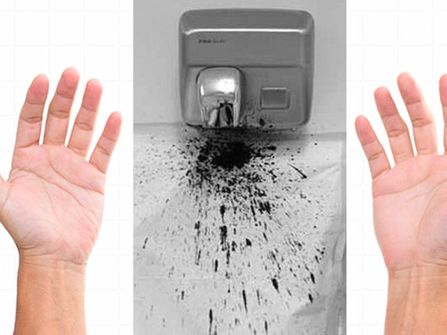 This Is How Hand Dryers Spread Bacteria