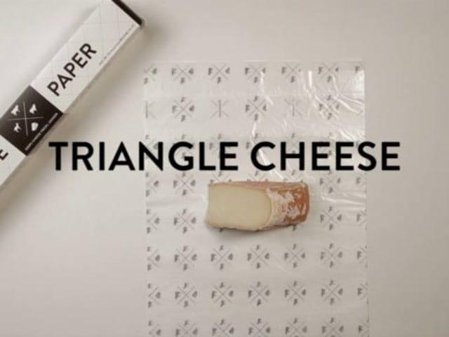 Estos videos muestran la mejor manera de envolver queso