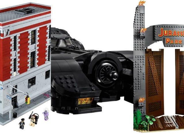 De coolste popcultuur Lego-sets om te bouwen