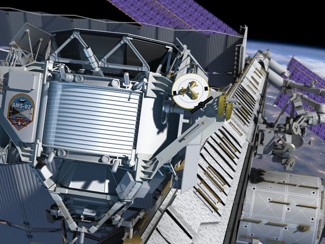 Astronauts Are On a Spacewalk Right Now to Repair a Crucial Dark Matter Experiment