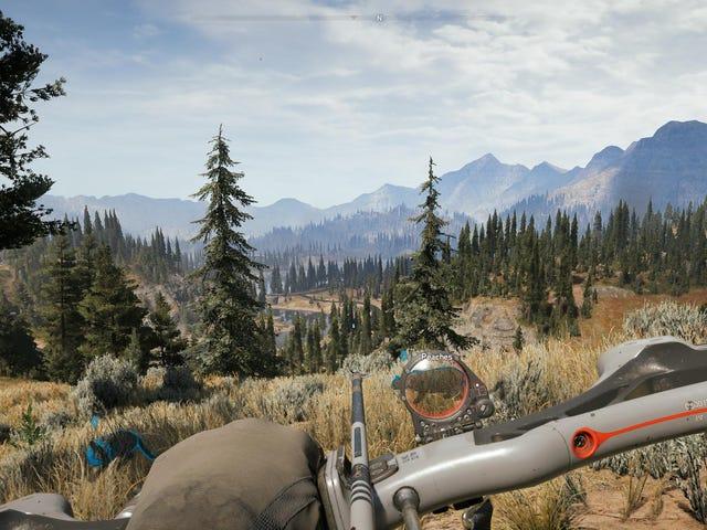 L'interface utilisateur de Far Cry 5 fait bien les choses