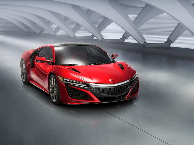 The New Acura NSX Is Here, And What A Glorious Thing It Is