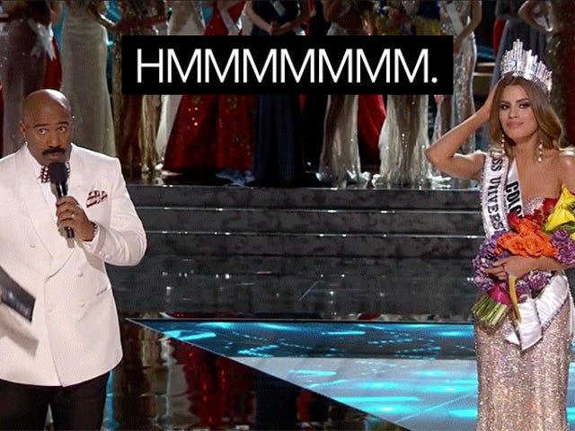 Miss Colombie est un Steve Harvey Truther, juste comme moi