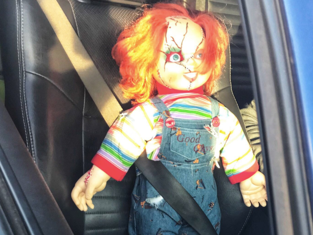 Police Joke About Jon Gruden After Ticketing Carpool-Lane Driver With Chucky Doll In Front Seat