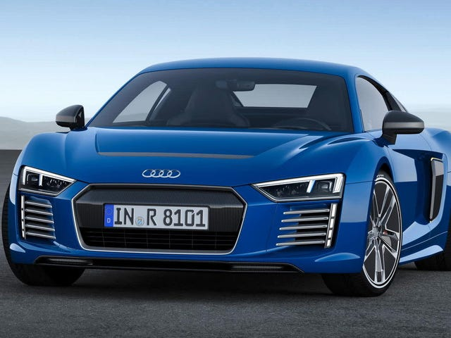 Electric Audi R8 May Come Back Next Year To Lead New EV Push: Report