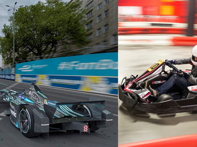 Are You Faster Than A Jaguar Formula E Racer? Come Race With Us In New York!