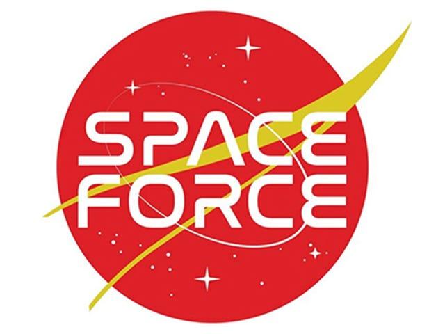 Estos son los logotipos propuestos para la nueva Fuerza Espacial del ejército de Estados Unidos