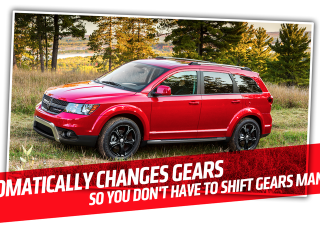 Dodge's Description Of The Dodge Journey's Four-Speed Automatic Is So Sad