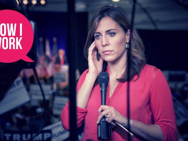 I'm Hallie Jackson, NBC News Correspondent, and This Is How I Work