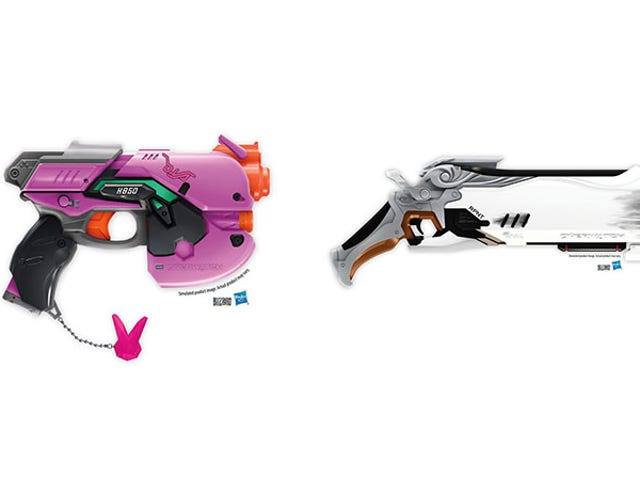 Nerf Is Releasing Overwatch Guns
