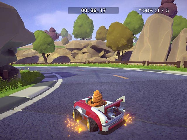 I Wish To Inform You That Another Garfield Kart Has Been Made