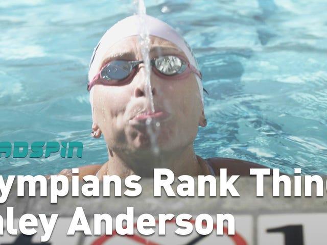 Olympian Haley Anderson, Olimpiyat Kahramanlarının Yüzdürülmesini Sıraladı