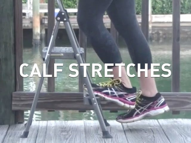 This Video Shows You How to Properly Stretch Your Calves for Better Balance