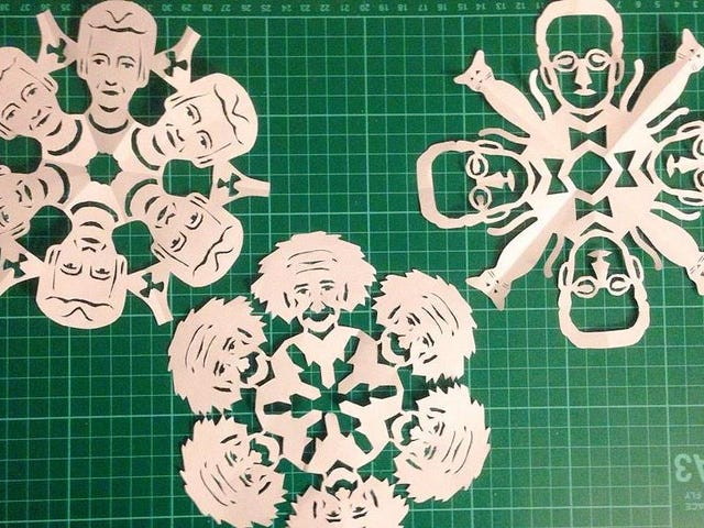 Bring Science Into Snowflakes For Truly Geeky Decorations