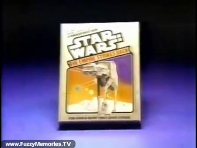 Późny TAY Retro: Atari 2600 |  Star Wars: The Empire Strikes Back |  Reklama telewizyjna (NA)