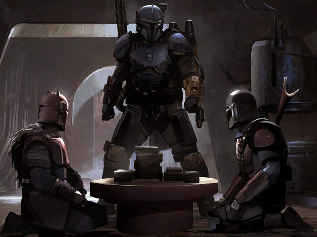 This Is the Way to Some Gorgeous New Mandalorian Concept Art