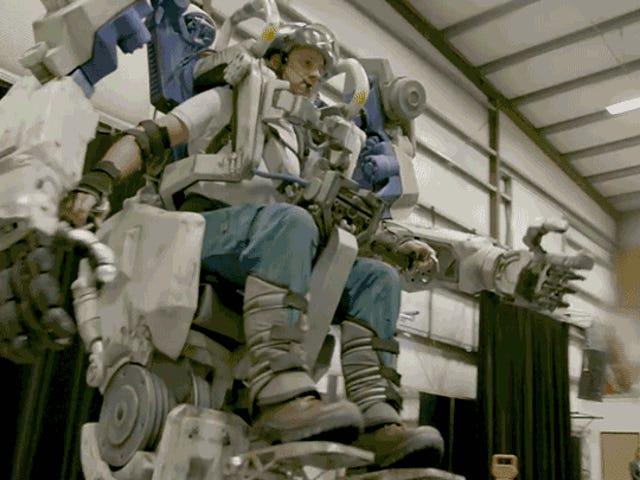 Ces costumes de marche de la vie réelle de Mech sont finalement une raison de visiter le monde d' <i>Avatar</i> de Disney