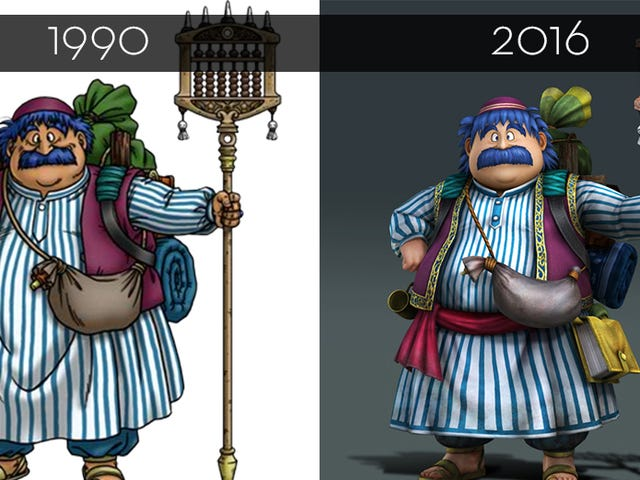 More Dragon Quest Characters Get A Facelift