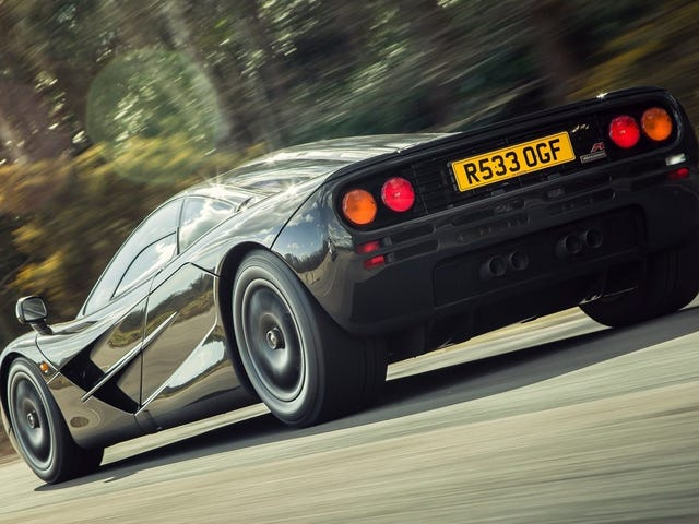 Here's How Crazy Pricey It Is Just To Keep A McLaren F1 On The Road